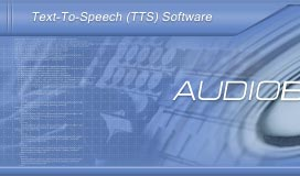 Text-to-speech software